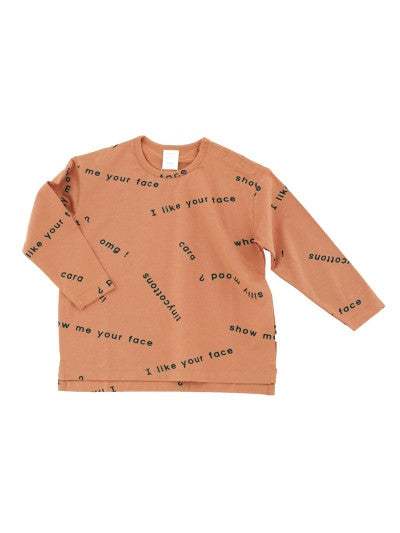 Tiny Cottons many words ls oversized tee