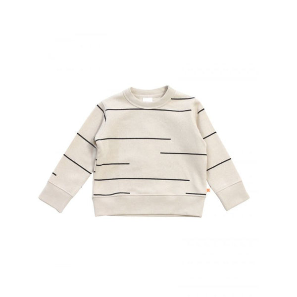 Tiny Cottons lines fleece sweatshirt