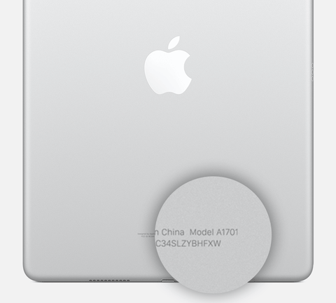 ipad-9.7-inch-back-model-number-location