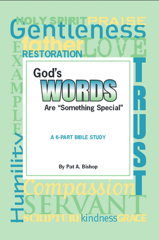 "Bible Study Book: ""God's Words Are Something Special"""