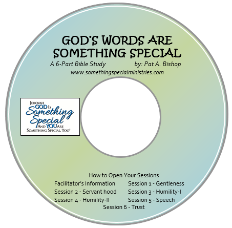 "Facilitator's Guide on CD, for Bible Study, ""God's Words are Something Special"""