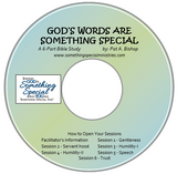 God's Words are Something Special, Facilitator's Guide on CD