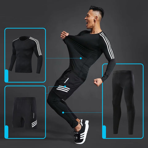 Comprehensive training men's sportswear