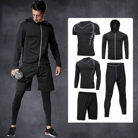 5pcs / sets men's sportswear