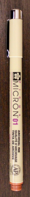 Pigma Micron Brown 01
