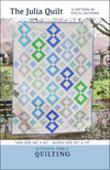 The Julia Quilt Pattern by Kitchen Table Quilting