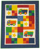 Toy Trucks Pattern