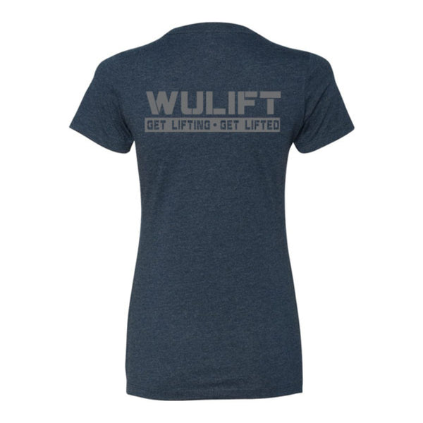 WuLift Women's Shortsleeve - Midnight Navy