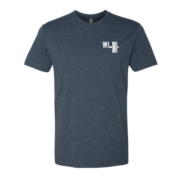 WuLift Men's Shortsleeve - Midnight Navy