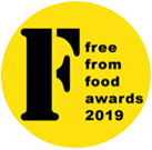 Free From Food Awards 2019 logo