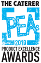 the caterer product excellence awards 2019 logo image