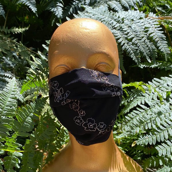 Masks - Non-medical 100% Polyester Embroidered