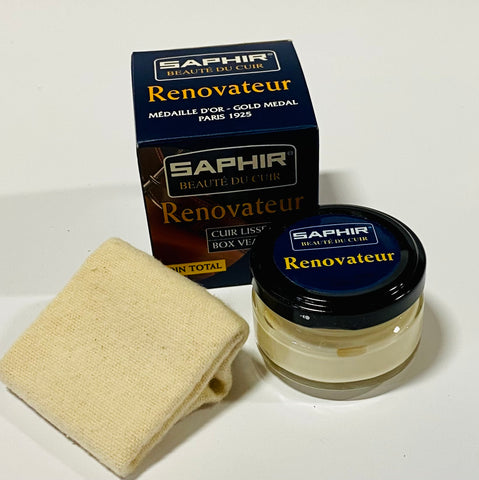 Leather Care - Saphir Beauté du Cuir - Renovateur Cream