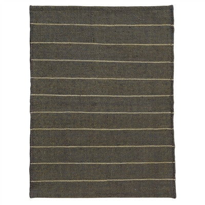 Gray & Neutral Striped Rug