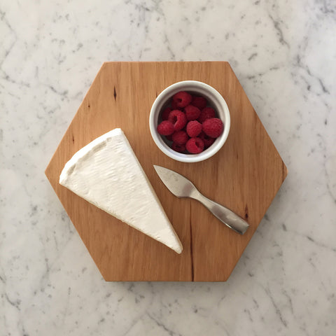 Large Hexagon Cutting & Serving Board