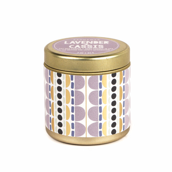 Lavender & Cassis Kaleidoscope Candle