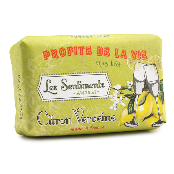 Les Sentiments Lemon Verbena Soap