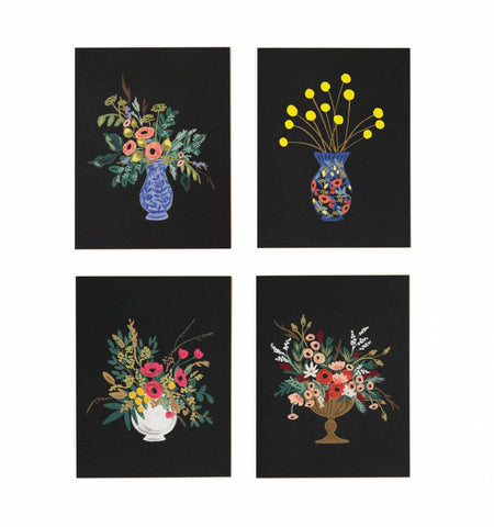 Assorted Vase Study Cards- Set of 8