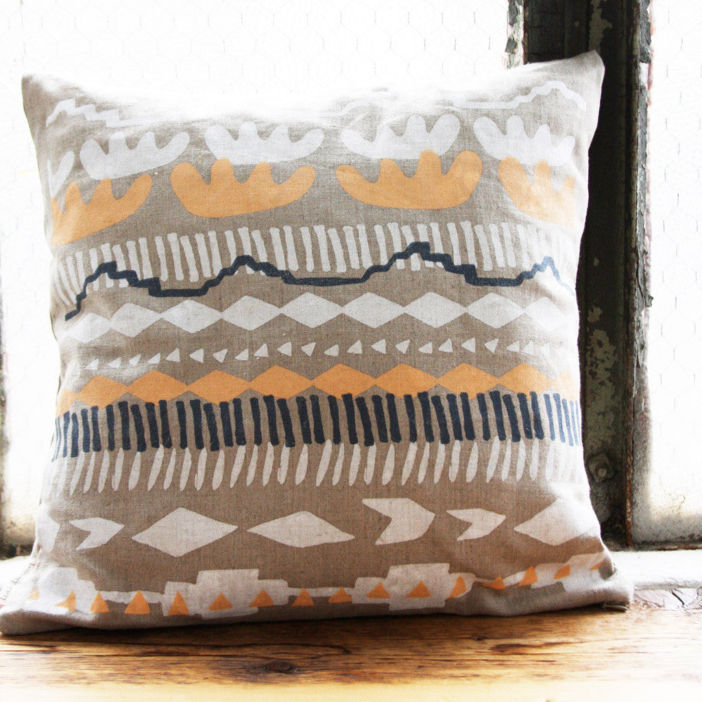 Marfa Linen Pillow Cover with Insert