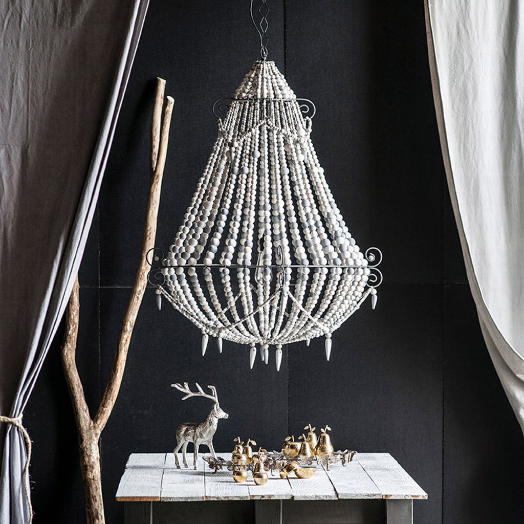 Destina Chandelier- White