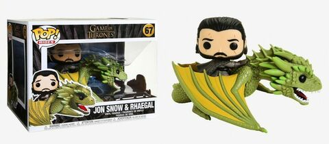 Game of Thrones - Jon Snow & Rhaegal Numéro 67