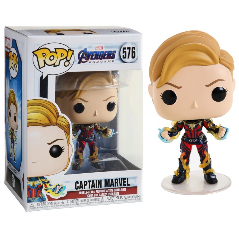 Marvel Endgame - Captain Marvel with New Hair Numéro 576