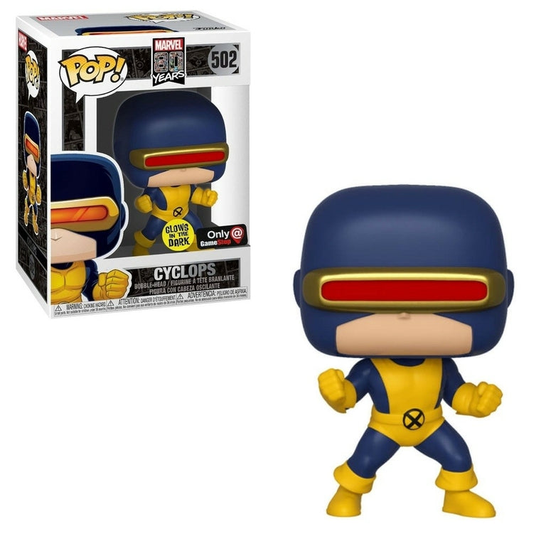 Marvel 80th - First Appearance - Cyclops Numéro 502