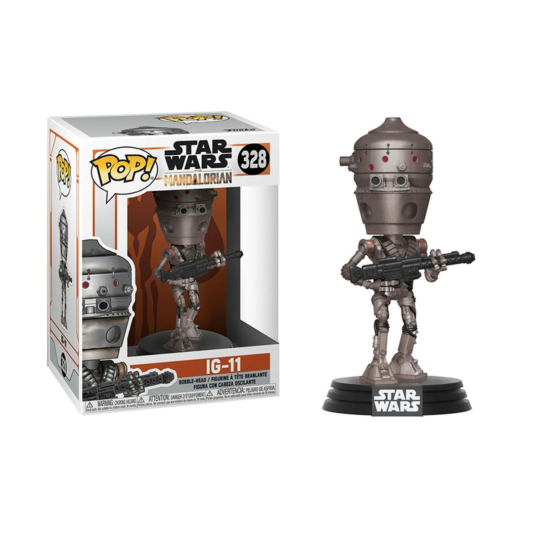Star Wars - The Mandalorian - IG-11 Numéro 328 Bobble-Head