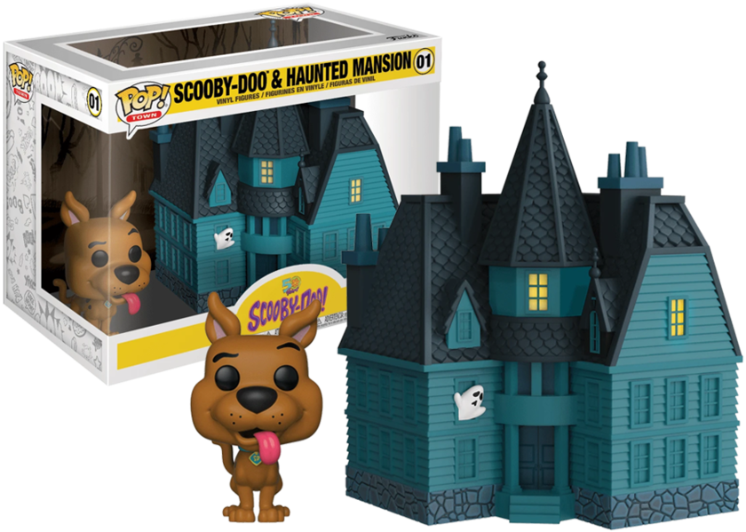 Town Scooby Doo - Haunted Mansion Numéro 01