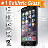 iPhone 6 Plus Glass Screen Protector: (5.5 inch ONLY) Edge to Edge Tempered Glass Tech Shield