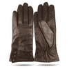 iGT CLASS 100% Lambskin Women Leather Gloves - Brown