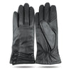 iGT CLASS 100% Lambskin Women Leather Gloves - Black