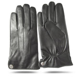 iGT CLASS 100% Lambskin Men Leather Gloves - Black