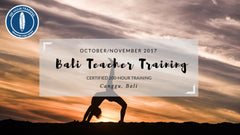 Blissology 200-hr YTT: Canggu, Bali October/November 2017