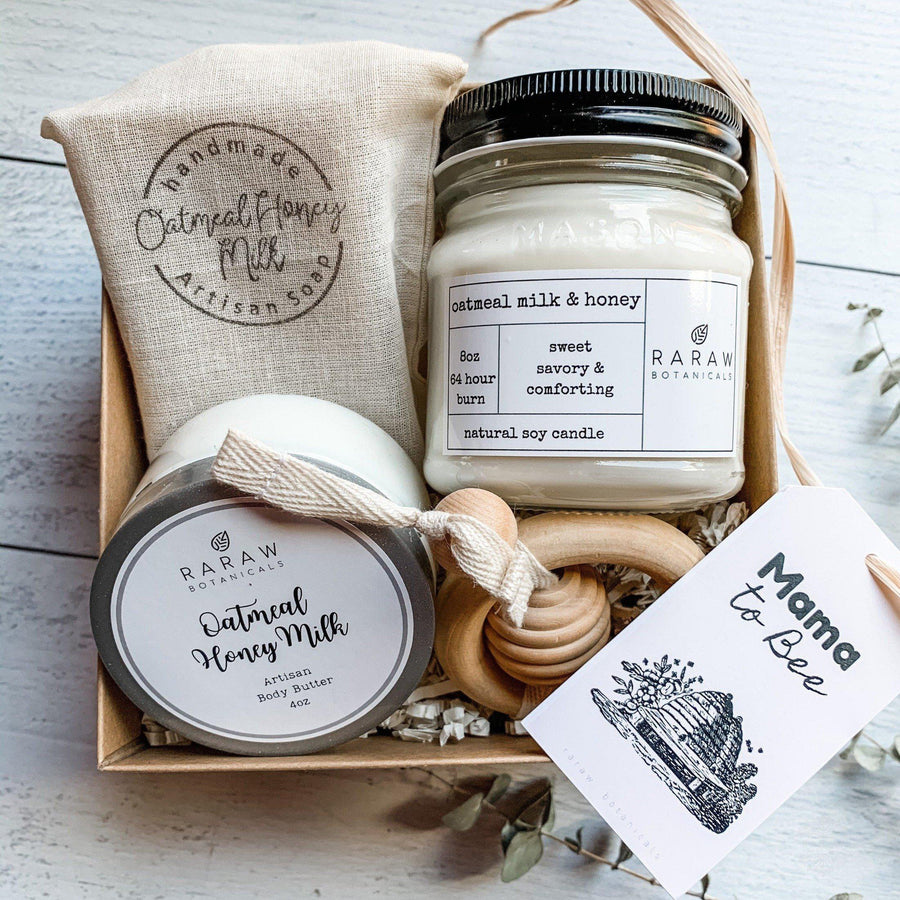 Mom to be - New Mom care package -Bath & Beauty-RaRawBotanicals