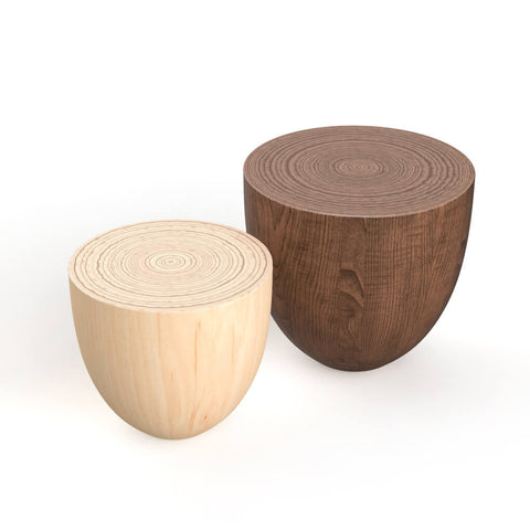 round wood end table side table coffee table accent table for living room bed room