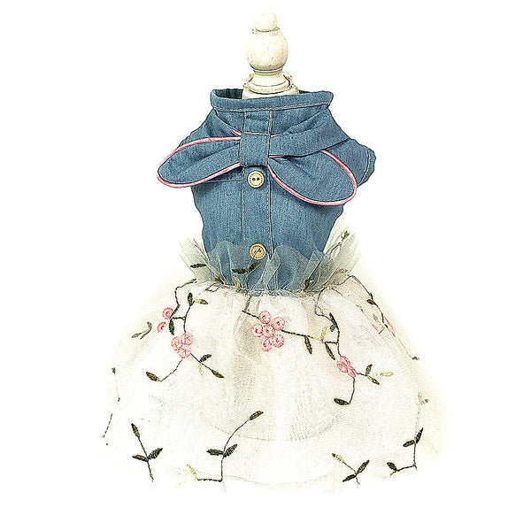 Factory Direct Puppy Dog Princess Dress