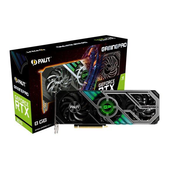 Palit NVIDIA GeForce RTX 3070 8GB GamingPro Ampere Graphics Card