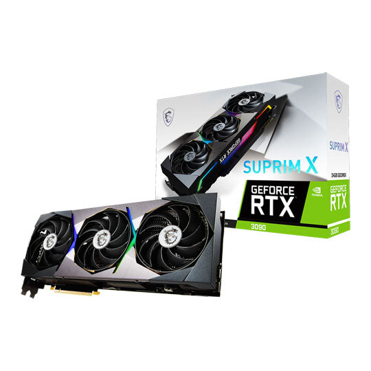 MSI NVIDIA GeForce RTX 3090 24GB SUPRIM X Ampere Graphics Card