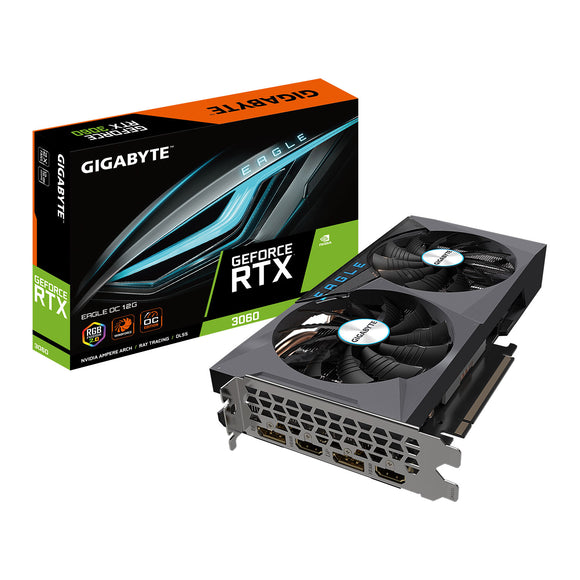 Gigabyte NVIDIA GeForce RTX 3060 12GB EAGLE OC Ampere Graphics Card
