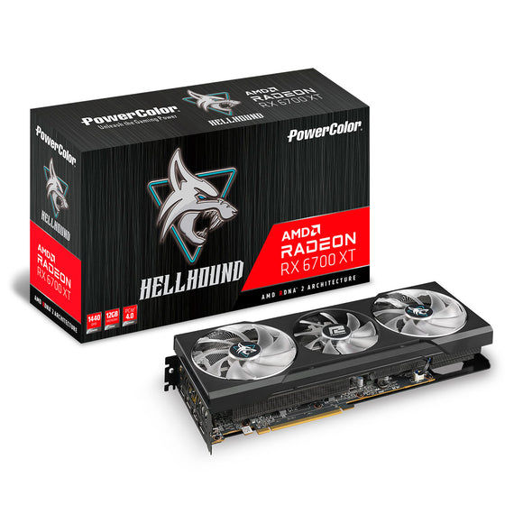 Powercolor AMD Radeon RX 6700 XT Hellhound 12GB Graphics Card