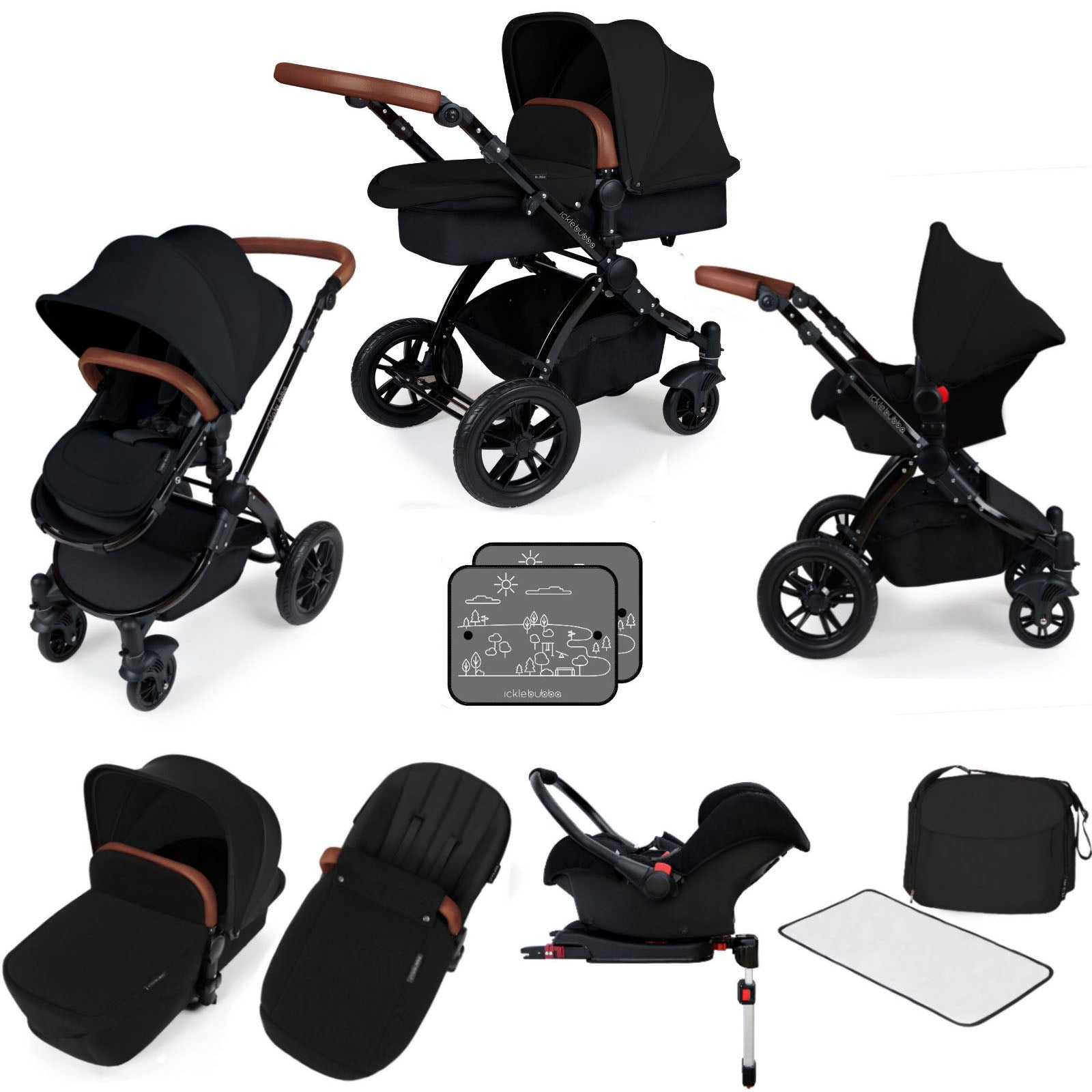 Ickle Bubba Stomp V3 Bundle Black on black Chassis