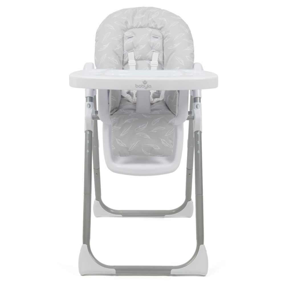 Babylo Hi Lo Highchair Feathers