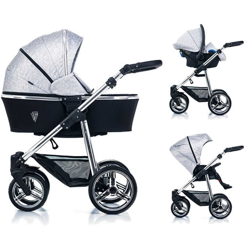 Venicci 3-1 Special Edition Silver Spark Travel System