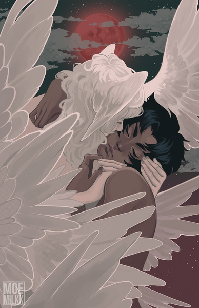 "Devilman Crybaby ""The Kiss"" Print"