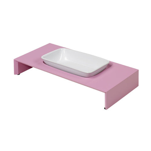 Bowser Cat Dish Pink