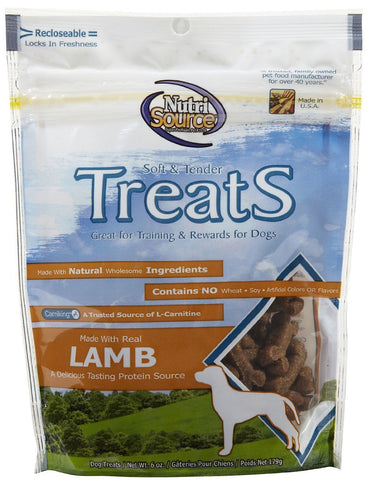 Nutrisource Treats Lamb