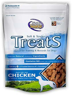 Nutrisource Treats Chicken