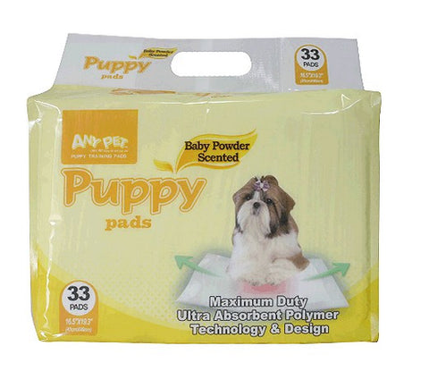 Alpha Dog Puppy Pad 33 Count