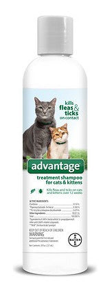 Advantage Flea Treatment Shampoo for Cats
